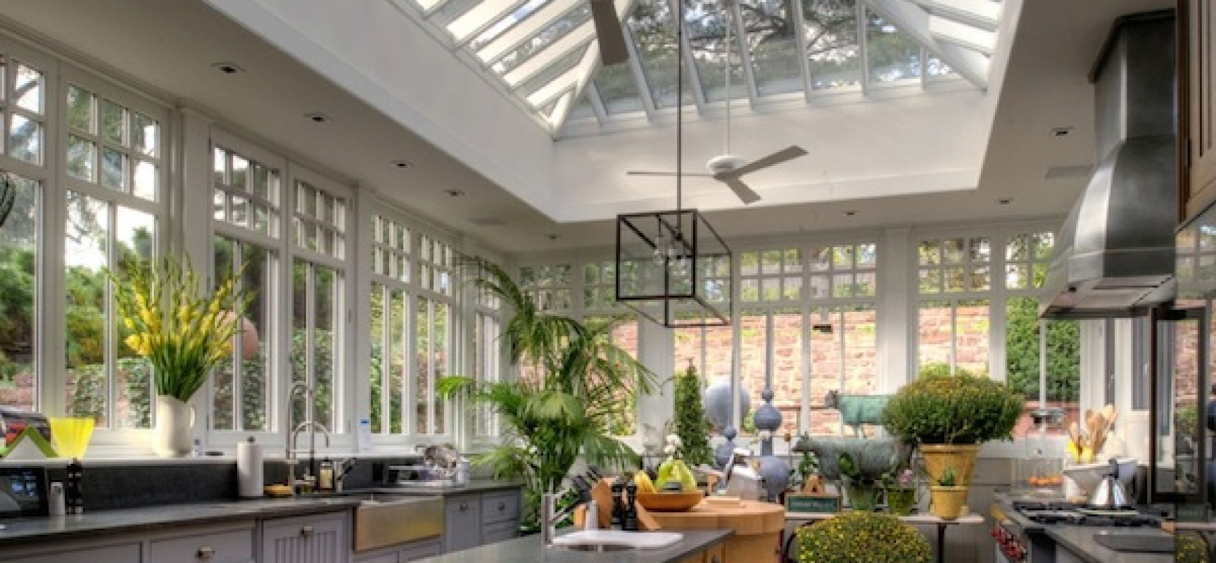 Kitchen Conservatory Take Your Kitchen To The Conservatory Inreads