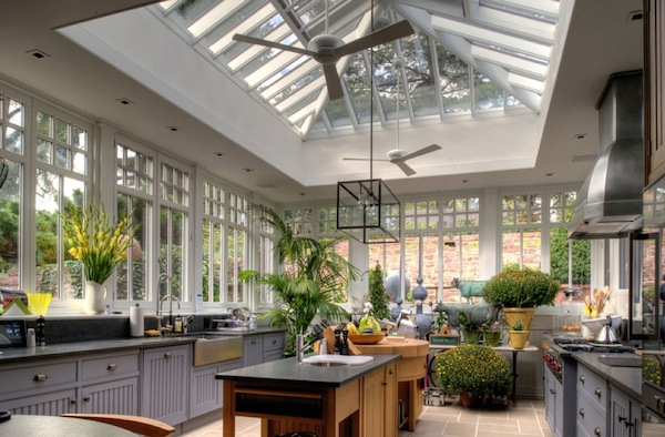 take your kitchen to the conservatory - Kitchen Conservatory