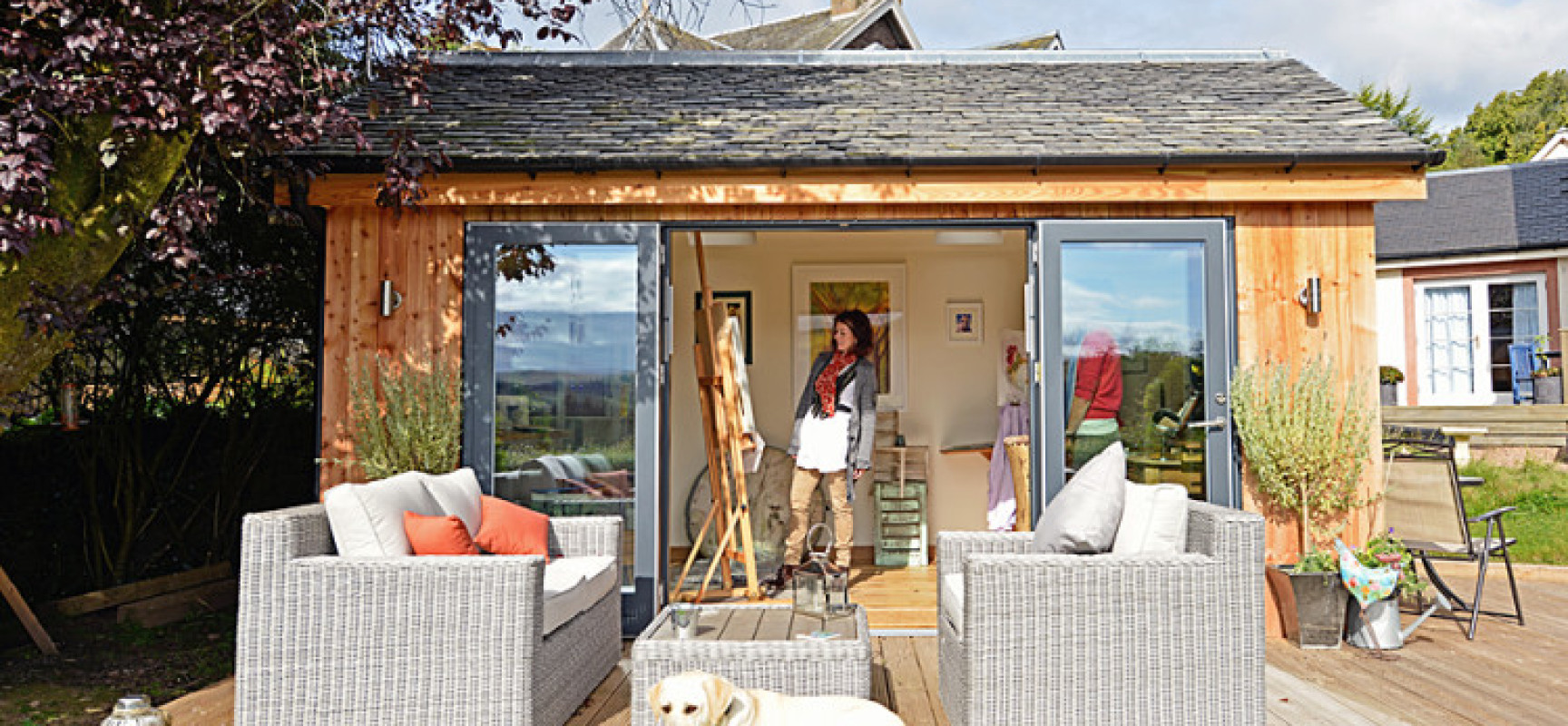 Creating the perfect 'she-shed' for your garden