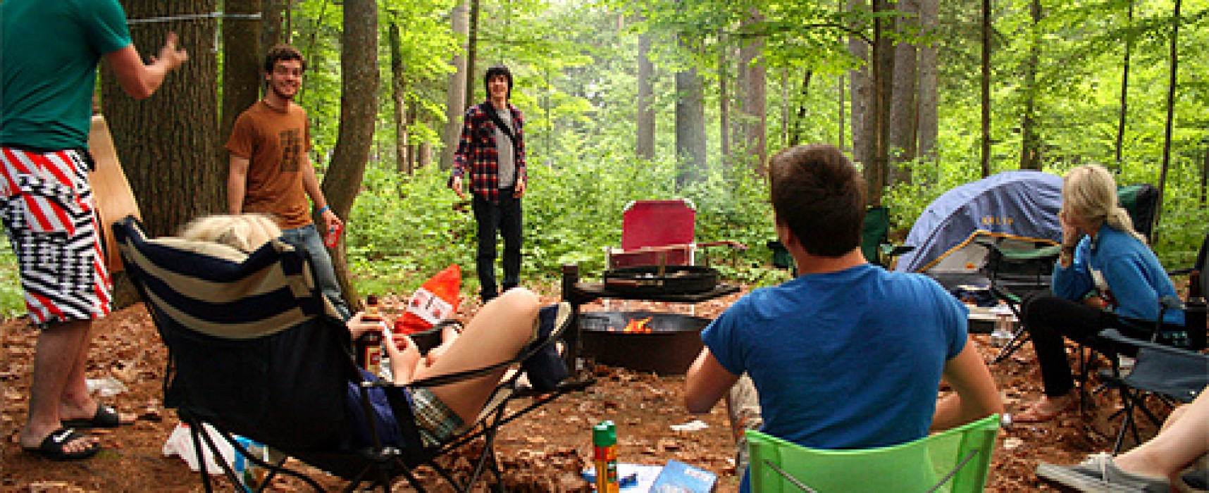 Health and safety advice for camping trips