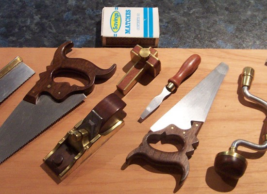 Basic woodworking tools for making your own furniture
